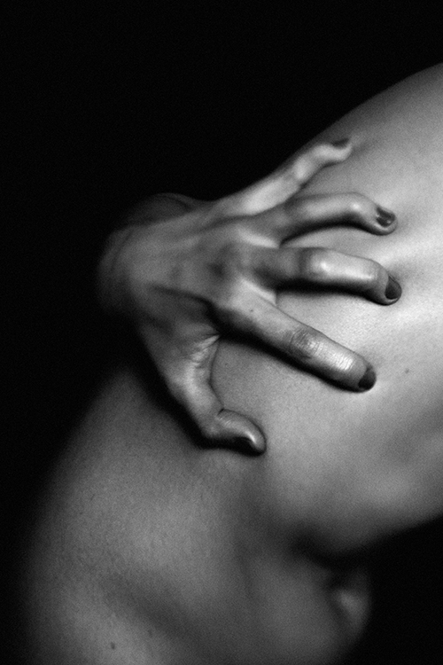 Photo art hands black and white