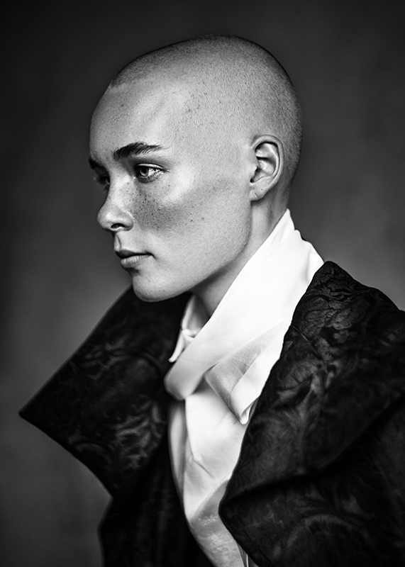 Bald Witch. Sleep No More Actress Krista Morgenson