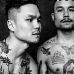 TTTism Issue 3. Tattoo collectors Derek and Kyle Wong shot by Yana Bardadim. Set design by George Bardadim.